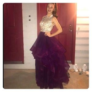 Prom; pageant Dress size 4